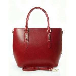 BORDO  WŁOSKA TORBA SHOPPER BAG A4  SB522R
