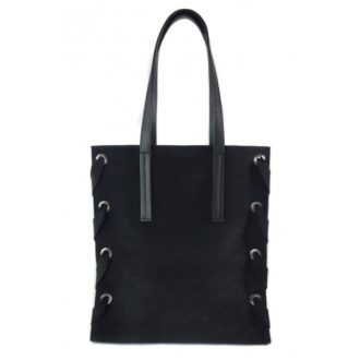 Zamszowa torba Shopper bag